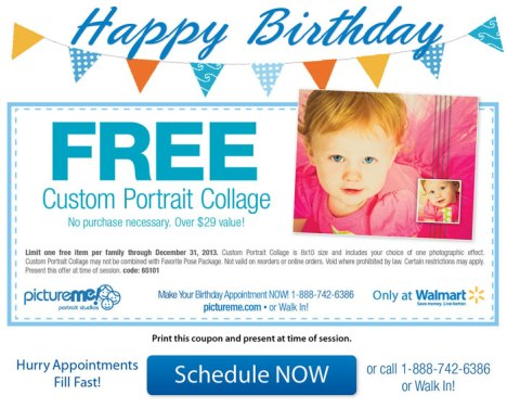 free custom collage walmart