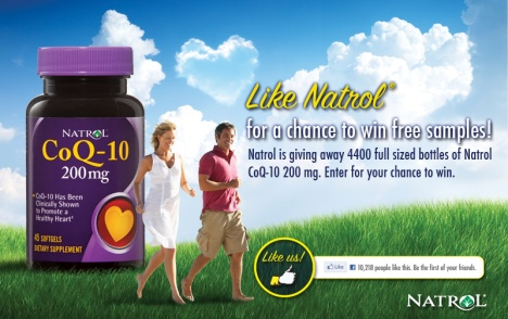 free natrol coq-10 sample