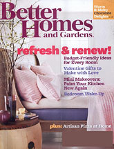 free better homes and gardens magazine