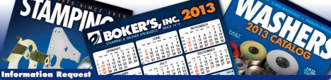 free bokers calendar and washers