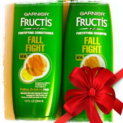 free garnier fall fight shampoo