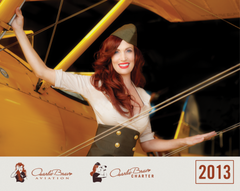 free charlie bravo aviation 2013 calendar