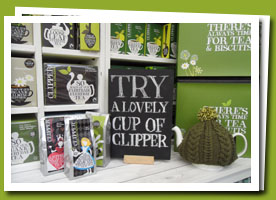 free clipper tea sample