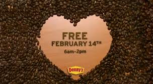 free dennys coffee