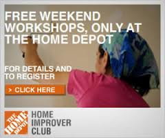 free home depot workshops