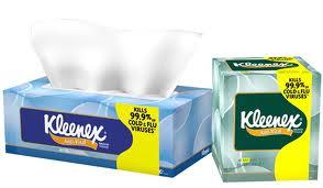 free kleenex at costco