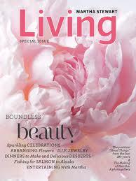 free living with martha stewart magazine