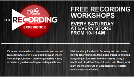 free midi recording classes