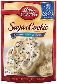 free sugar cookie mix