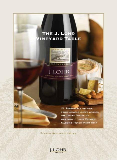 free j lohr vineyard recipe book
