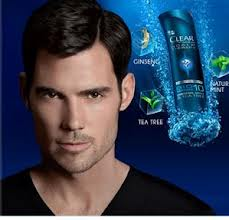 free mens clear scalp