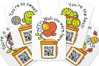 free qr stickers