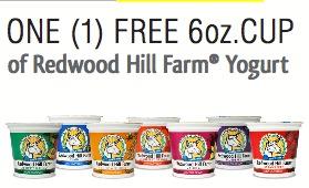 free redwood hill yogurt coupon