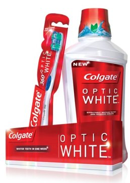 Colgate Optic White Regimen