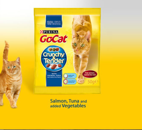 free go cat food