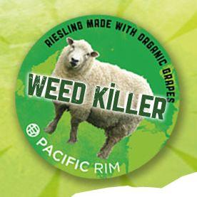 free weed killer sticker