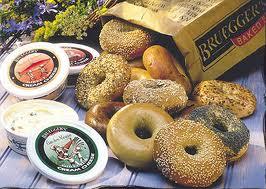 free brueggers bagel
