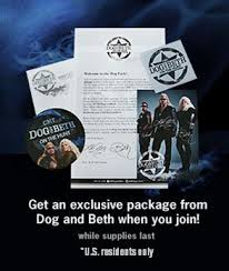 free dog and beth decal