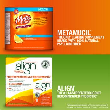 free metamucil and align