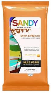 free sandy wipes