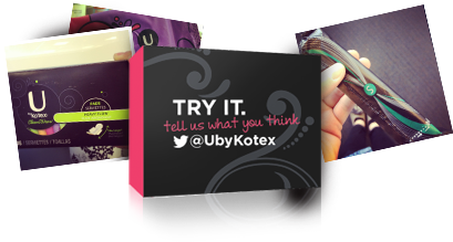 free u by kotex samples