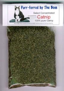 free cat nip sase