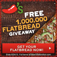 free chilis flatbread