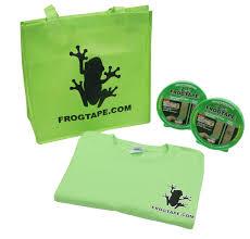 free frog tape gift bag