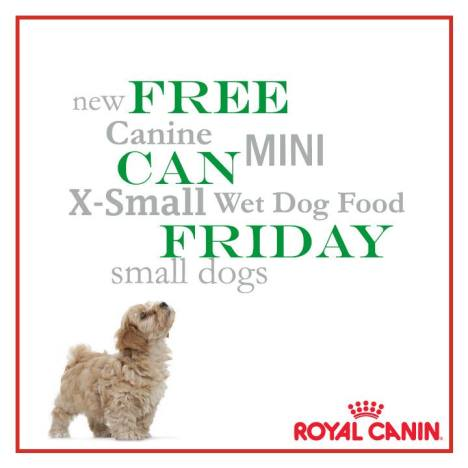 free royal canine dog food