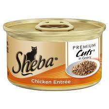 free sheba cat food