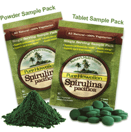 free spirulina
