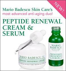 free mario badescu peptide renewal samples