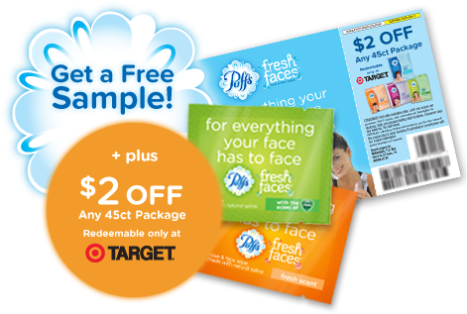free puffs sample coupon