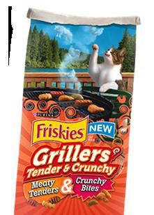 free friskies grillers