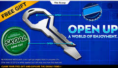 free skoal bottle opener