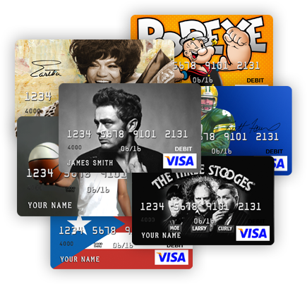 Card.com Prepaid Visa Debit Card Collage 2