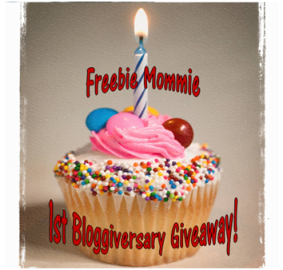 Freebie Mommie 1st Bloggiverssary Giveaway
