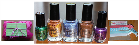 Sweet Tea Polish - A Group Shot