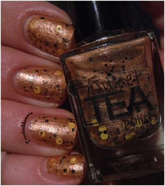 Sweet Tea Polish - Black Eyed Susan 1