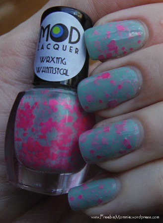 Mod Lacquer Waxing Whimsical 1